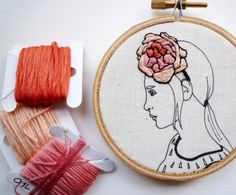 creative modern embroidery colors