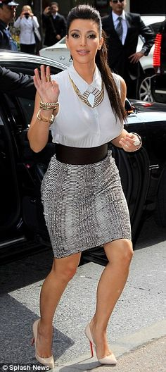 her style amazing as usual.