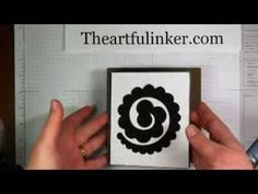 Take Five for Stamping Spiral Flower Die Pine Cone by The Artful Inker Felt Flowers, Paper Flowers, Sizzix Dies, Take Five, Big Shot, Pine Cones, Videos, Stamping, Card Ideas