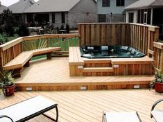 s backyard deck design.hot tub platforms matt finished spa platform tips deck design and framing.This outdoor hot tub is placed under a pergola, installed atop a deck.deck designs with hot tub design ideas pool and backyard outdoor plans tubs for. Hot Tub Deck, Hot Tub Backyard, Backyard Plan, Cozy Backyard, Backyard Retreat, Backyard Ideas, Landscaping Ideas, Outdoor Ideas, Hot Tub Patio On A Budget