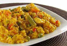 Arròs amb pollastre i verdures a thermocuina.cat