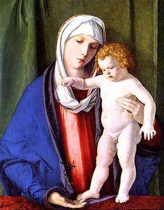 Giovanni Bellini - Madonna col bambino, 1480