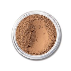 """I use this as a bronzer, it's the perfect non-orange matte shade! - MATTE SPF 15 Foundation bareMinerals in shade """"Dark"""""""