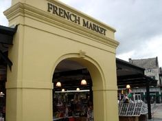 the French Market in Nola is a cute little farmers market type of deal...hoping to make a stop there