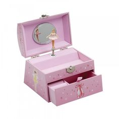 Katz JB22 Pearl Handle Jewellery Box dazzle-dancewear.co.uk
