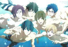 Free!, Ryuugazaki Rei, Hazuki Nagisa, Nanase Haruka (Free!), Tachibana Makoto