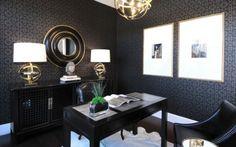 Elegant Office Decor #decorating #business