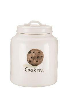 Cream Cookie Jar - Cream by Magenta on @HauteLook