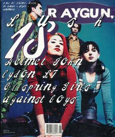 "David Carson (designer), Ray Gun cover #18 ""Lush"", August 1994"