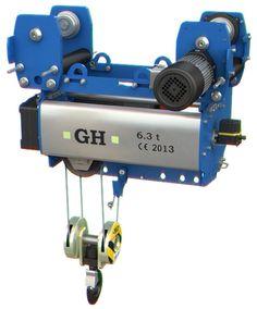 Nuevo modelo de polipasto monorraíl suspendido GHB11, fabricado por GH Cranes & Components.
