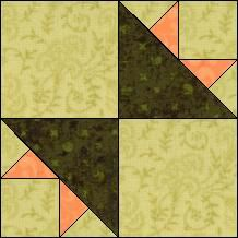 Block of Day for September 04, 2014 - Peony Bouquet