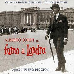 """Piero Piccioni: """"Fumo di Londra"""", 1966, Colonna Sonora del Film."""