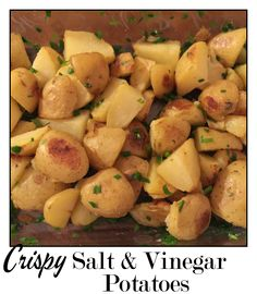 and sea salt vinegar potatoes v crispy sea salt vinegar potatoes ...