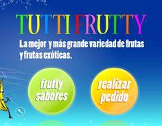 Web Cocktails y batidos. Diseño y desarrollo web. http://www.designrasalo.com/tutyfrutty/