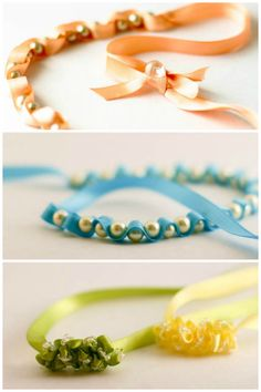 24 easy DIY jewelry and hair accessories for girls - perfect for your Christmas Advent calendar or just to put a smile on your girl's face!