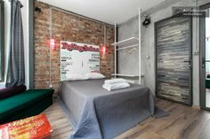 Rolling Sultan in Besiktas 2 in Istanbul, $70/night, looks really cool in a funky neighborhood!