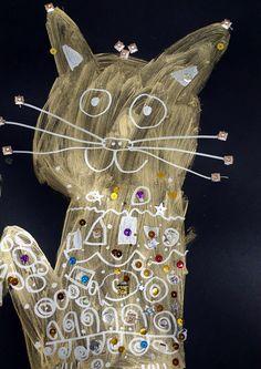 Vytvořili předškoláci v našem výtvarném studiu. Gustav Klimt, Studios, Christmas Ornaments, Holiday Decor, Home Decor, Decoration Home, Room Decor, Christmas Jewelry, Studio