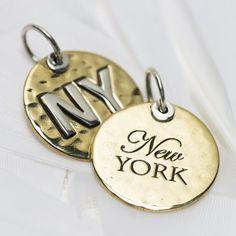 New York charm #3154 > RRP $AUD33.00 | #travel #palas #love #wanderlust #adventure #palasjewellery #experience #places #lovepalas #life #journey Charm Jewelry, Wanderlust, Journey, Charmed, Jewels, York, Jewellery, Adventure, Personalized Items