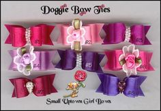 Image: Uptown Girl Puppy dog bows