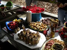 hungry caterpillar party foods