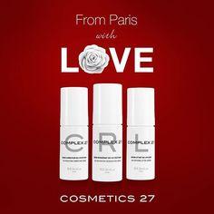 C'est le mois pour tomber amoureuse ❤️ Nous avons pensé à vous...RDV sur www.cosmetics27.com pour découvrir notre offre privilège #beauty #love #cosmetics27 #serums #complex27 #organicskincare #naturalbeauty #beautysecret #skincare #paris #beautiful #redpassion #winterskin #happy #wednesday