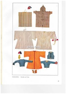 Max Tilke Costume Patterns and Designs Book Plate Nord Afrika (1948) by DustCoverPaperati, $8.00