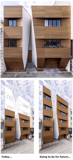 Afsharian House      Awards: Honorable Mention in Memar Grand Award in the Residential category - 2014    Architect: .ReNa. Design ( Reza Najafian )    Location: Kermanshah, Iran