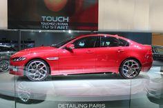 Mondial de l'automobile Paris 2014 - Stand Jaguar X TYPE