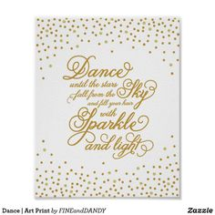 Decorate baby's room with nursery art & wall décor at Zazzle! Shape the room with vibrant, colorful children's art designs on posters, canvas prints & more! Nursery Wall Art, Wall Art Decor, Girl Nursery, Nursery Decor, Design Your Own Poster, Kunst Poster, Dance Quotes, Dance Sayings, Personalized Wall Art