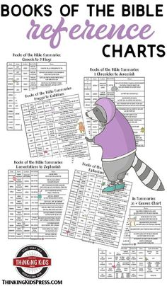 Summary of the Books of the Bible Reference Charts Use handy reference charts of genre, themes, dates, & authors as a summary of the books of the Bible as you study God's Word with your kids! Homeschool High School, Homeschool Curriculum, Homeschooling, Homeschool Kindergarten, Bible Crafts For Kids, Kids Bible, Parenting Articles, Christian Parenting, Bible Lessons