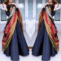 You will see in the world what you carry in your heart. Your experience of the world is a reflection of your thoughts. Indian Bridal Fashion, Indian Wedding Outfits, Indian Outfits, Saree Wearing Styles, Saree Styles, Saree Blouse Designs, Dress Designs, Salwar Designs, Sari Blouse
