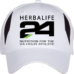 "Make your cap your billboard ""24 Hours Athlete"""
