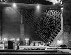 Staten Island Anchorage, Verrazano-Narrows Bridge, 1992 | Invisible New York | © Stanley Greenberg, Courtesy Gitterman Gallery, New York