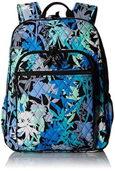 Womens Campus Backpack Signature Cotton Camofloral Vera Bradley for sale online Vera Bradley Luggage, Vera Bradley Handbags, Vera Bradley Backpack, Colorful Backpacks, Cute Backpacks, School Backpacks, Backpack Bags, Fashion Backpack, Diaper Bag
