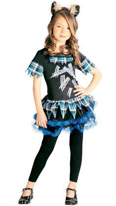 Disfraz de Monster Mini Wolf para niña