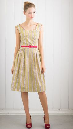 Zoe dress in Scribble