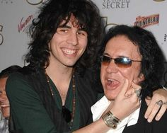 Nick And Gene Simmons, saw them at a movie premier.