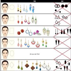 What earrings are best for your face shape?  http://buyboutiquesurplus.com/collections/earrings  #jewelrysale #discountjewelry #fashionjewelry