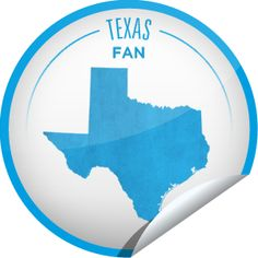 Texas Fan Sticker for Texas - Whether you love football or the Alamo, live music or the rodeo, you're a Fan of the Lone Star State! Keep checking-in to Texas to become a Superfan. - April 27, 2012