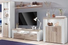 Wall-to-wall Chglanz-fronts online to buy otto Tv Rack Design, Living Room Designs, Wall, Stuff To Buy, Furniture, Home Decor, Rishikesh, Dining Room Furniture, Home Decoration