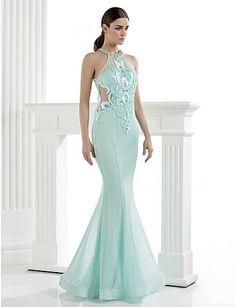 Vestido Largo Alta Costura Corte Sirena @ Vestidos de Fiesta Baratos Blog