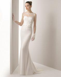 Isaac vestido de novia soft Rosa Clara