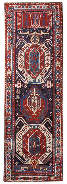 Kazak Kaukasus 328 x 112 cm