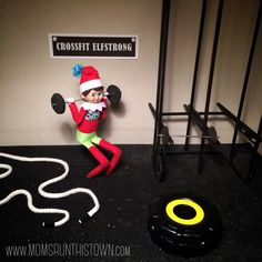 Fitsie the Elf The Elf, Elf On The Shelf, Have You Tried, Elves, How Are You Feeling, Shelf Ideas, Comfort Zone, Holiday Decor, Crossfit