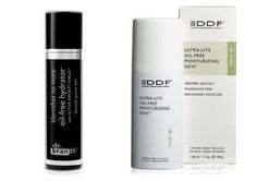 Perfect Night Cream  Problem: Oily Skin, Lotions  Dr. Brandt Blemishes No More Oil-Free Hydrator ($35; sephora.com) contains peptides to firm, hydroxycinnamic acid to even tone, and salicylic acid to clear pores and give you a subtle glow. If you're acne-prone and sensitive, DDF Ultra Lite Oil Free Moisturizing Dew ($38; sephora.com) provides relief with calming ingredients like aloe and allantoin, an anti-irritant.