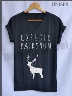 Expecto Patronum Harry Potter Spell Magical Shirt by iNakedapparel
