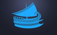 Wall Vinyl Sticker Decals Mural Room Design Pattern Art Ship Boat Old Greek Sail bo1990 by RoomDecalsAndDesigns on Etsy