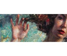 """""""At First Glance"""", Oil on Panel, 12"""" x 28"""" By Matt Talbert (@talbertart)"""