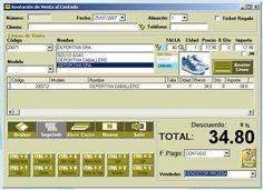Software TPV gestion zapaterias ZAPAGES. Zapages es un software de gestión especializados en zapaterias, facil de usar, muy completo, con tallas y colores o sin ellos.