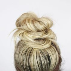 Top Knot inspiration!